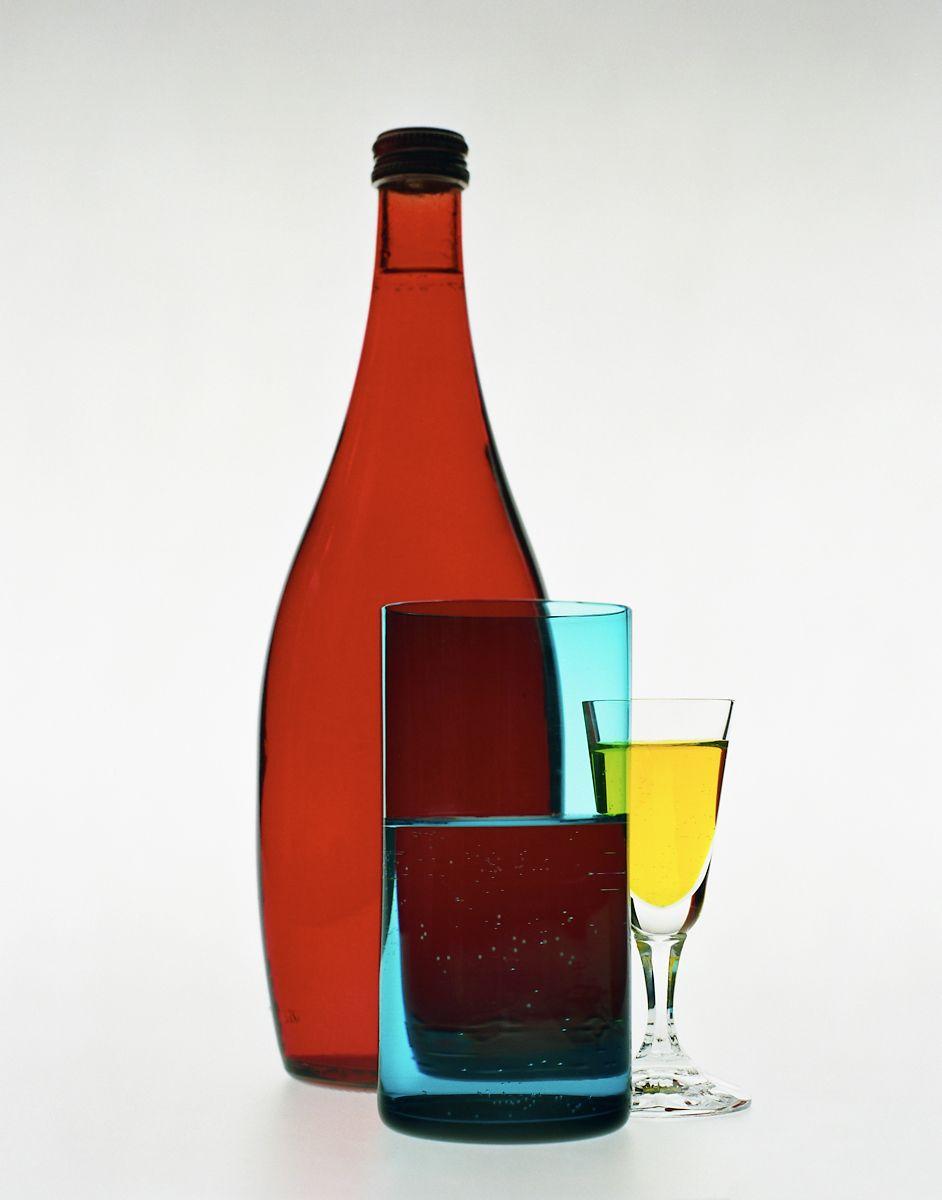Bela Borsodi Photographer Clariant Glass Single Image Image Wine Bottle