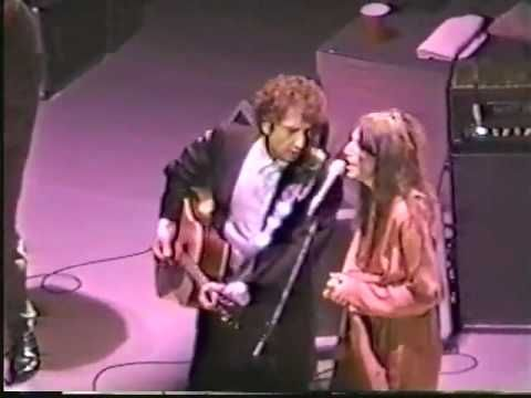 Bob Dylan & Patti Smith - Dark Eyes (1995) Live N.Y.