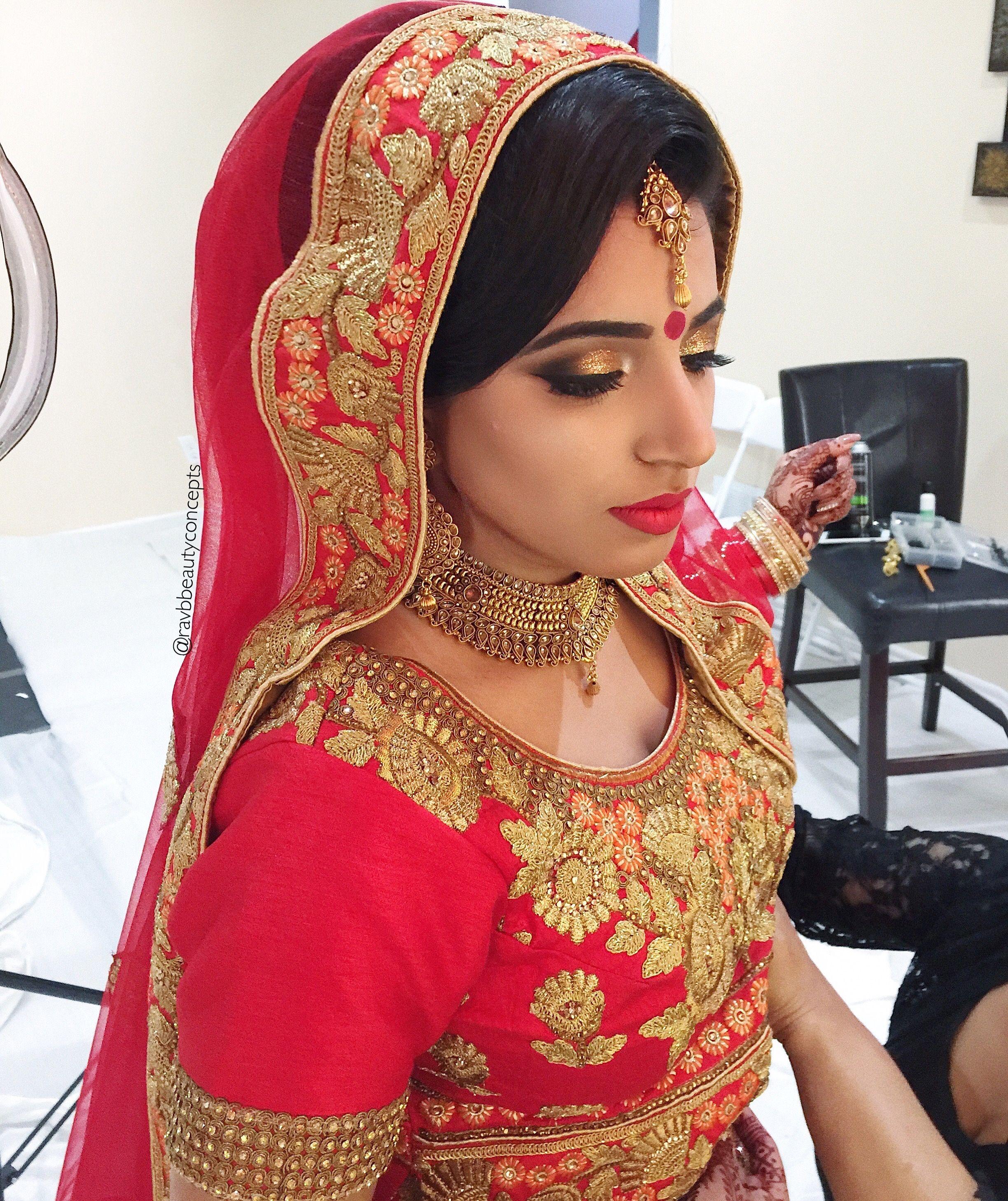 indian bridal makeup, indian bridal hair, bridal makeup, bridal hair