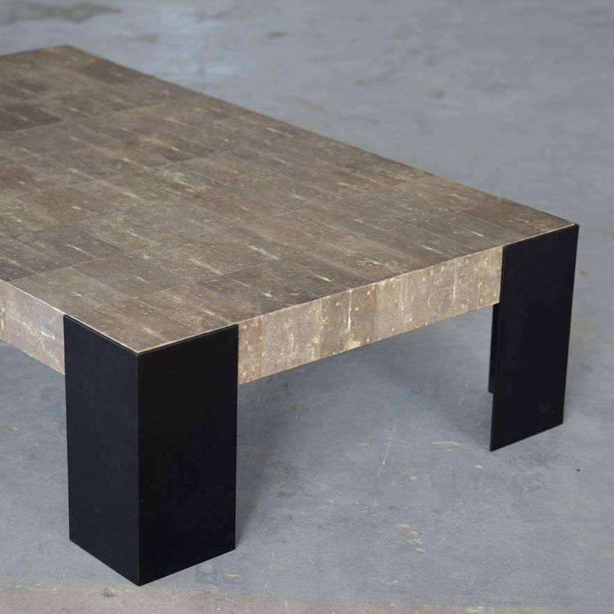 Shagreen Console Table (Kertas Console) By Alexander Lamont | Shagreen |  Pinterest | Console Tables, Consoles And Tables