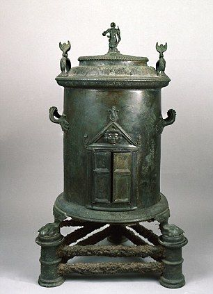 Old boiler: The world\'s first central heating system on display as ...