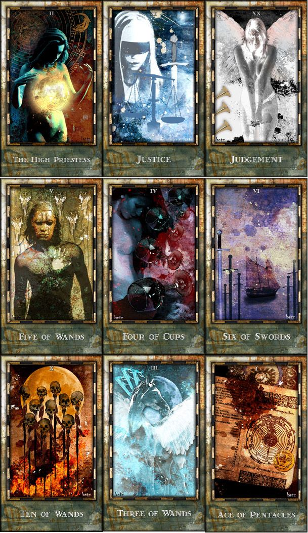 This Is The Most Beautiful Tarot Deck I Ve Every Seen Dave