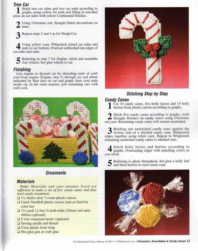 4 Diseños Christmas Stocking Crochet folleto de patrón