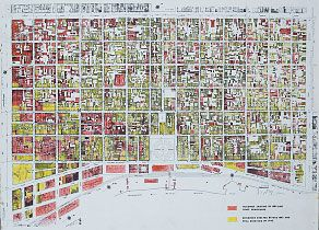 Map fq0002mapFQbldgs New Orleans French Quarter Pinterest