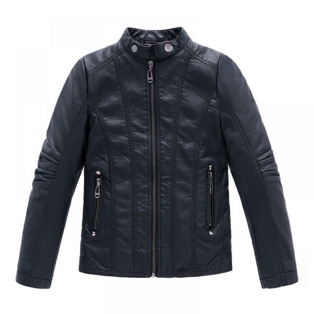 Vintage Style Boy S Faux Leather Jacket Boys Leather Jacket Kids Leather Jackets Boy Outerwear [ 1000 x 1000 Pixel ]