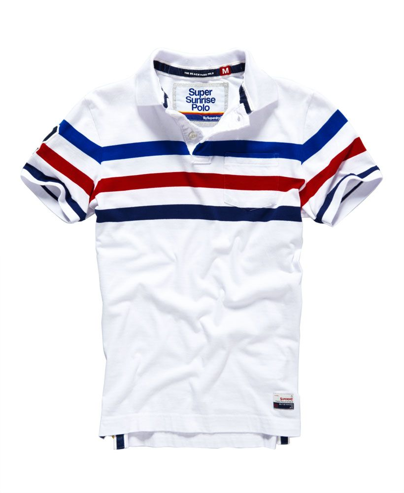 mens polo t shirt (superdry)