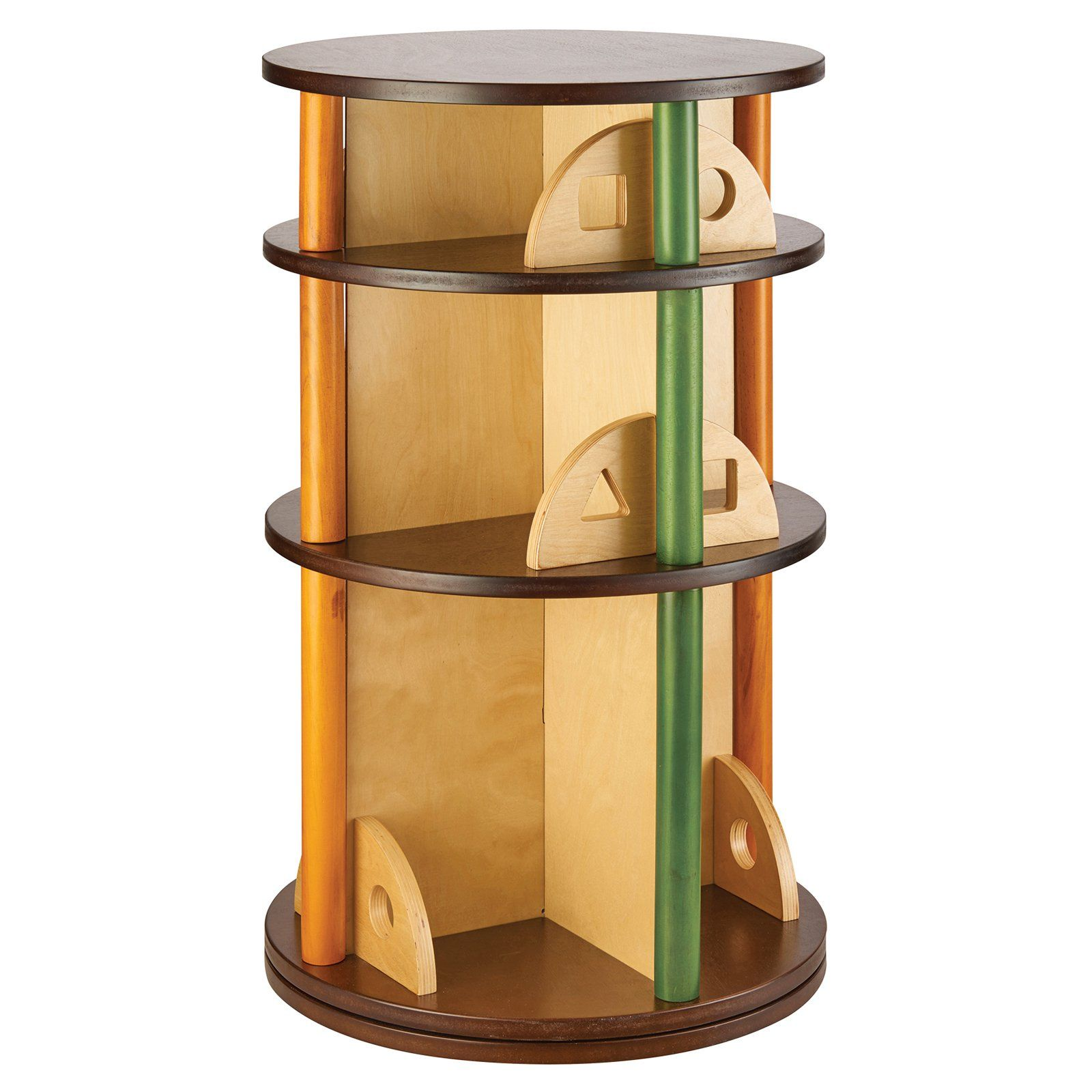 Guidecraft See and Store Media Carousel Kids room