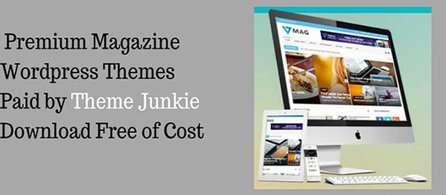 10+ Free WordPress Magazine Themes & Blogger Templates (Paid) by