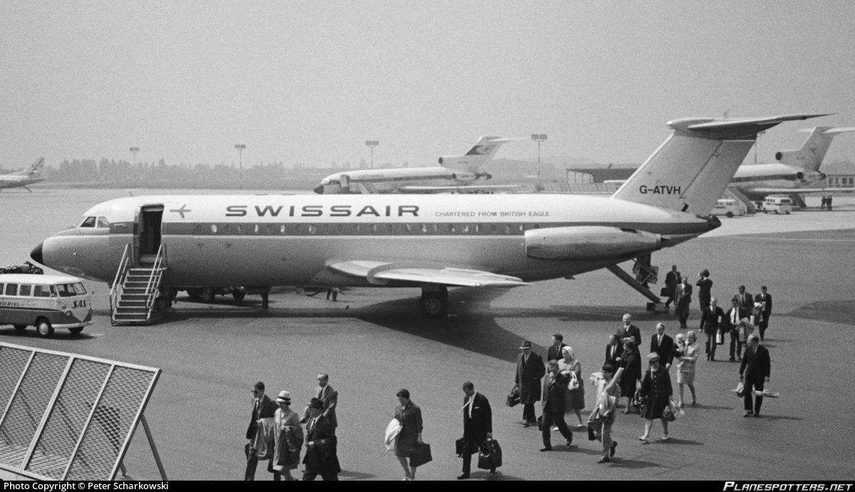 GATVH Swissair BAC 111207AJ OneEleven