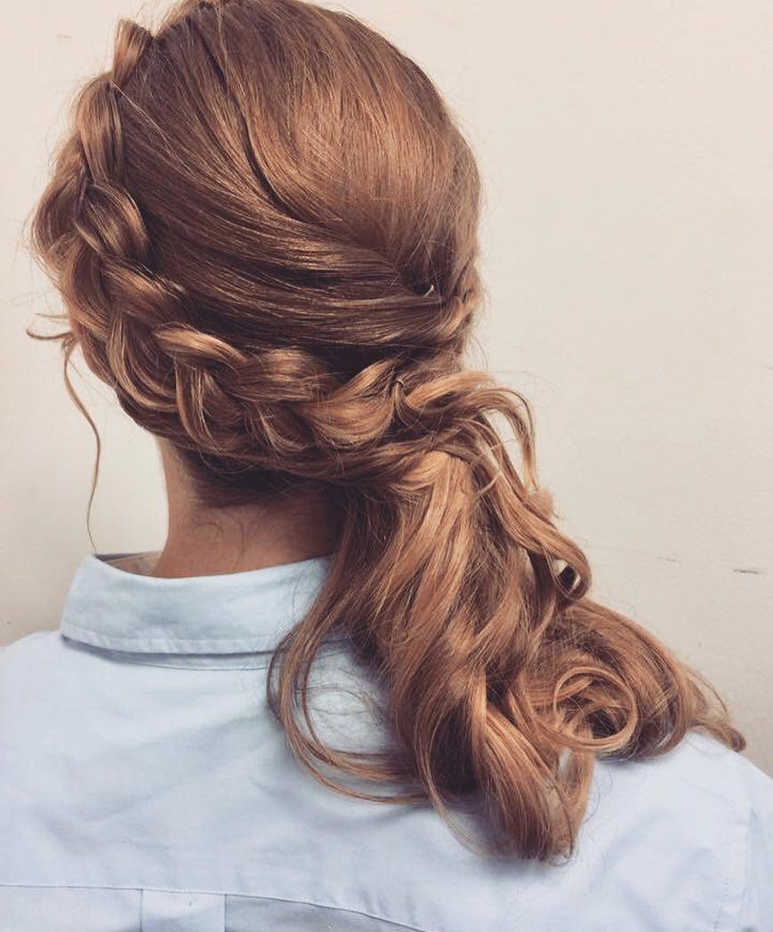 Side-Sweep Dutch Braid #braidedhairstyles