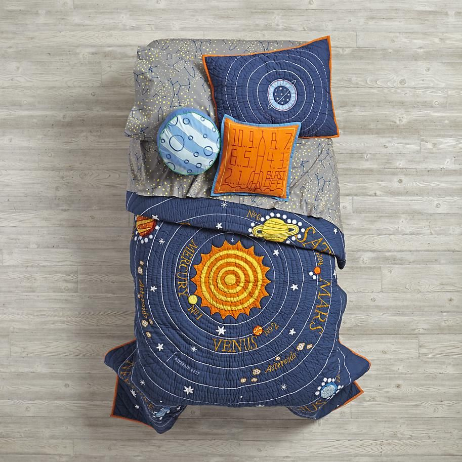 All Solar Systems Go Quilt  | The Land of Nod