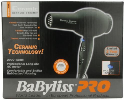 Ceramix Babyliss Dryer Xtreme Pro Hair Ceramic New 2000 Watt Brand Professional