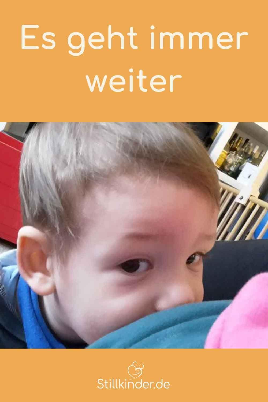 Alle Mütter, die ich kenne, und die nach mir ein Baby bekommen haben, haben mittlerweile bereits abgestillt. Die meisten auf ihren eigenen Wunsch hin. Mehr lesen auf: www.stillkinder.de