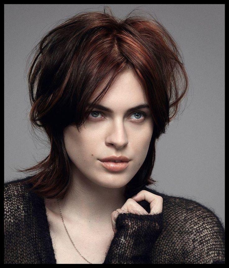 Rockige Frisur – Bilder – | Schöne Frisuren #beauty #einfache #frisuren #party …