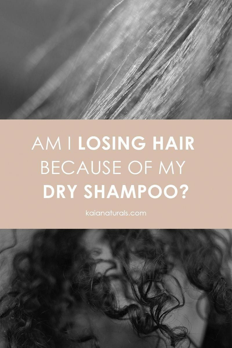 Am I Losing Hair Because of My Dry Shampoo? Some hair styles require you to use dry shampoo for added texture. However, it can also lead to hair loss in women. Find out how to properly use dry shampoo to prevent hair loss. #selfcare #hairstyles #greenbeauty #BestShampooForHairLoss