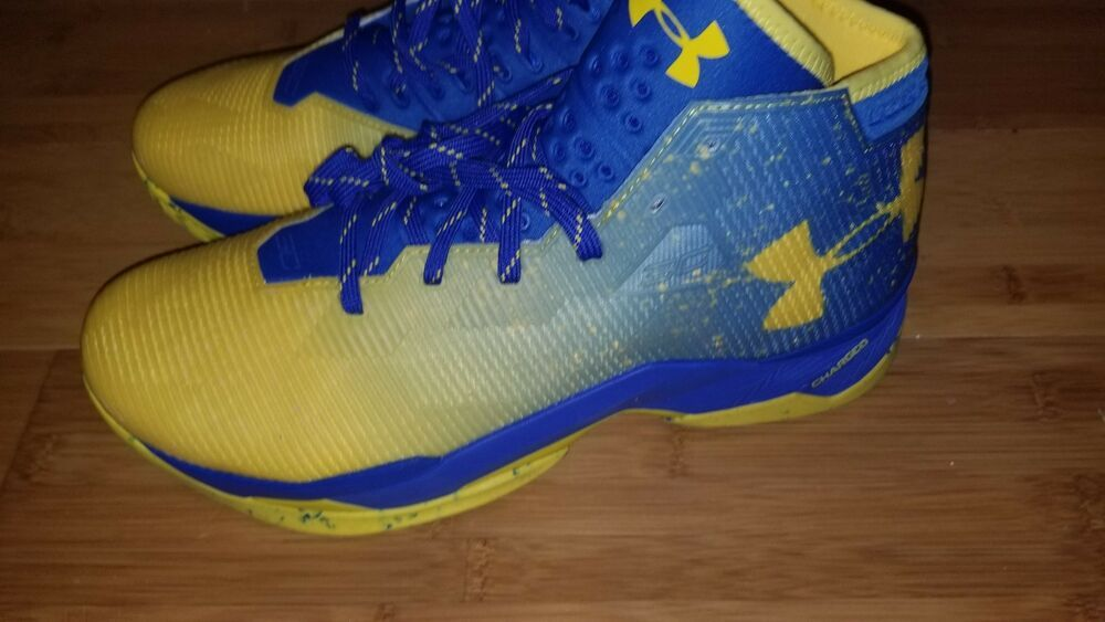 16116b81f064 UA Curry 2.5 Basketball Shoes Dub Nation Lights Team Royal 1274425-790 GSW  12.5  fashion  clothing  shoes  accessories  mensshoes  athleticshoes (ebay  link)