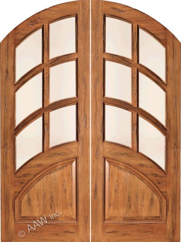 AAW Doors Inc. RS-1135 6-Lite Panel Bottom Round Top Double Entry & AAW Doors Inc. RS-1135 6-Lite Panel Bottom Round Top Double Entry ... Pezcame.Com