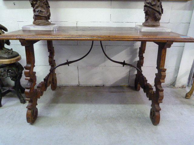 An 18thC.Spanish table