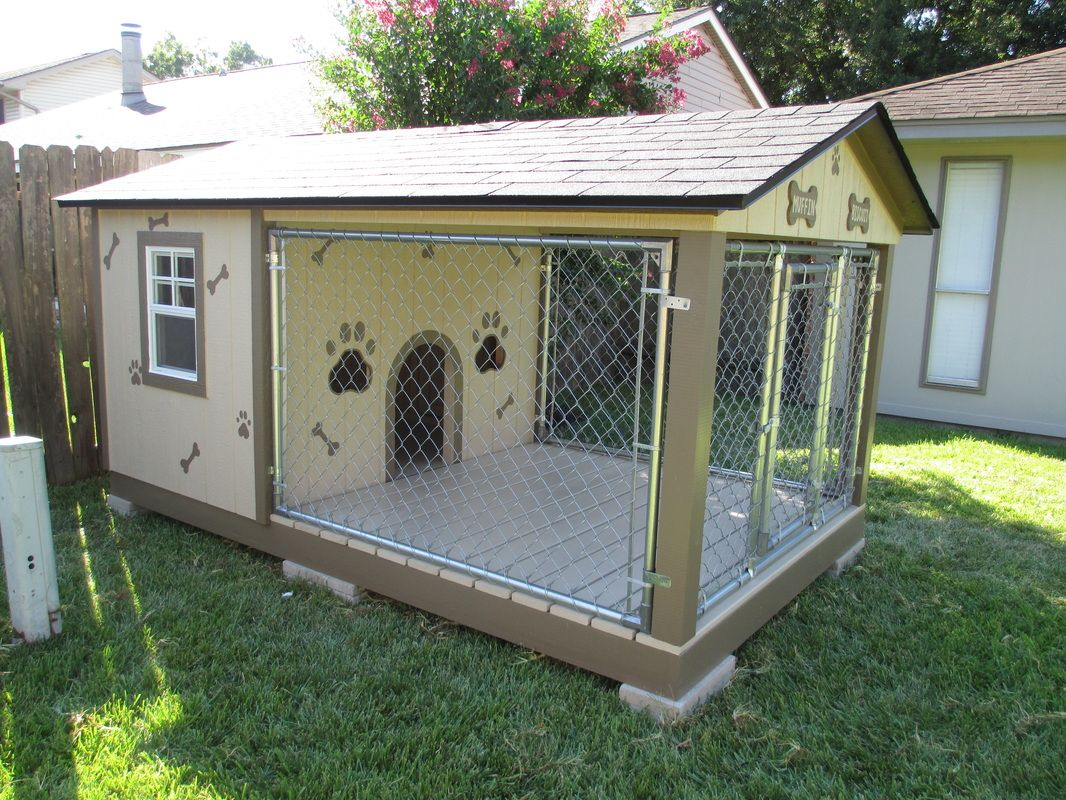 Custom Dog Kennels Build In Houston Tx Dog Houses Custom Dog