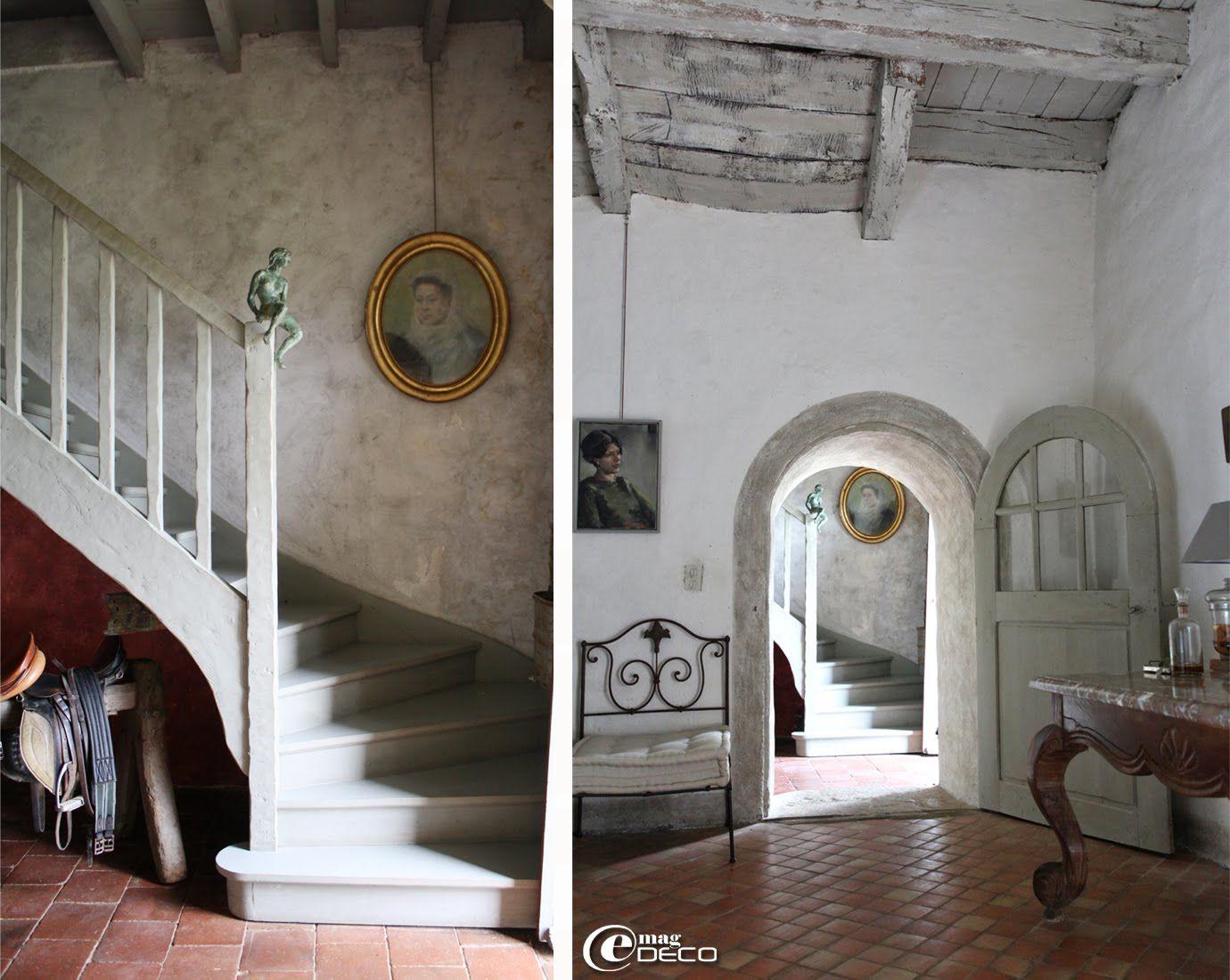 Interior Of Le Relais De Roquefereau In The South Of France Decor De Provence Blog La Vie Provencal Carrelage Terre Cuite Deco Interieur Salon Et Renov