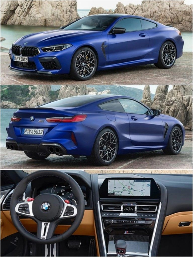 2020 Bmw M8 Coupe Produced Over 600 Horsepower