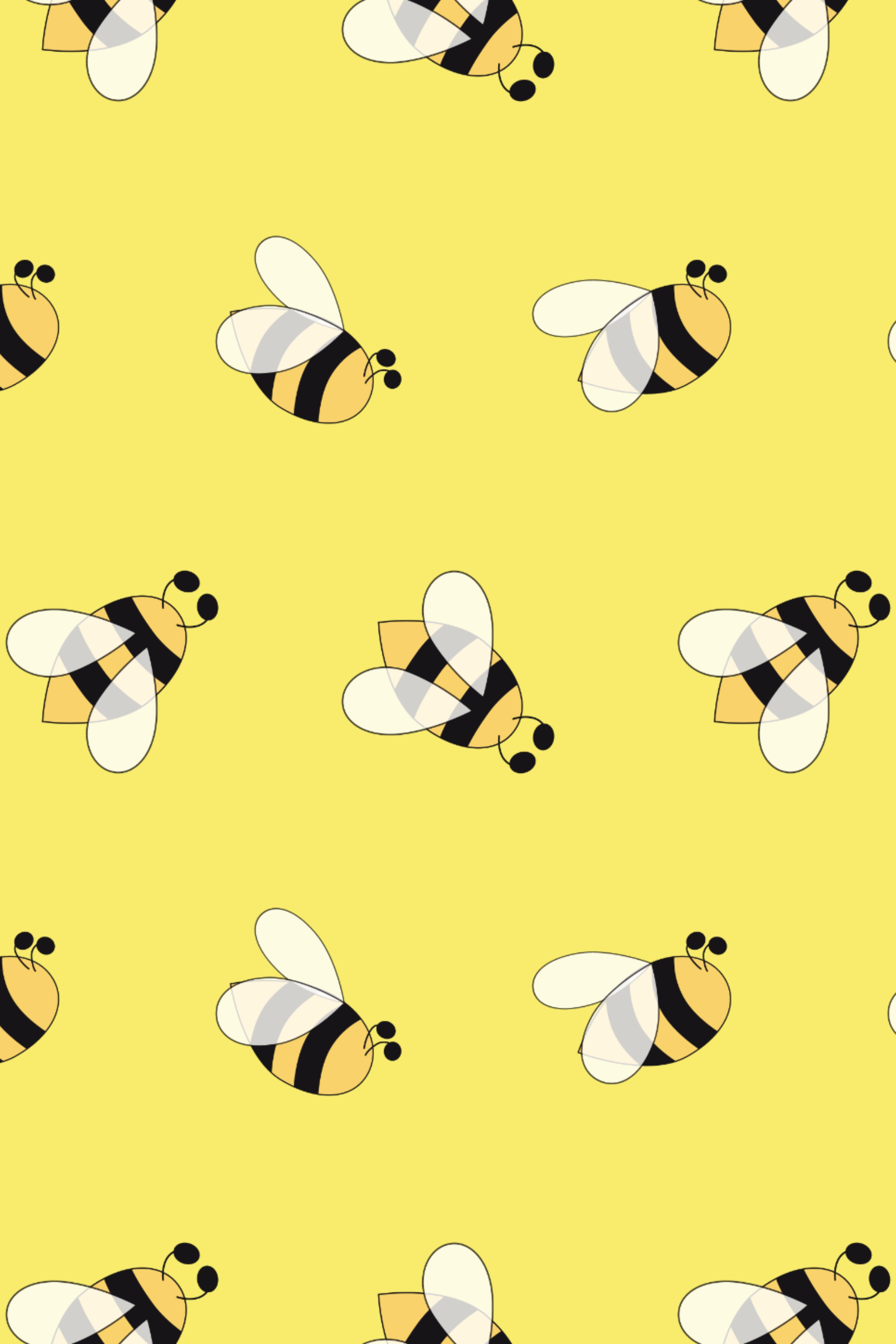 10 Honey Bee Patterns Cute Bee Cute Patterns Wallpaper Cute Wallpapers Cute Bee