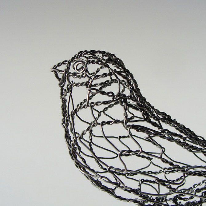Sculpture Wire portrait - Bing images | 3d | Pinterest | Wire art ...