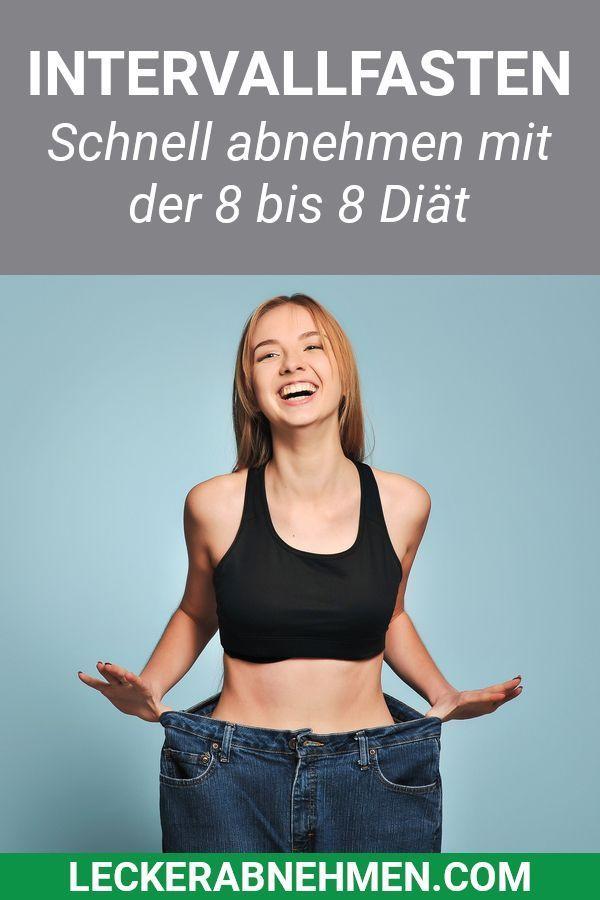 Intervallfasten – Schnell abnehmen mit der 8 bis 8 Diät