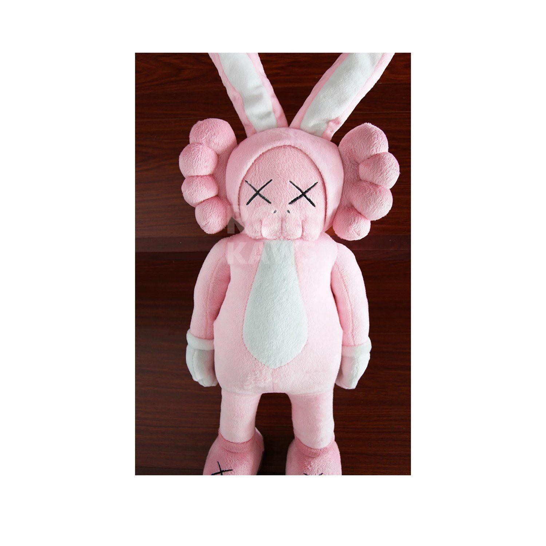 Kawjumbo Rabbit Maid Bunny Kaws 60 Cm Bff Dissected Companion Original Fake Art Toys Action Figure Figurine Plush Doll Toy Model Art Toy Plush Dolls Doll Toys
