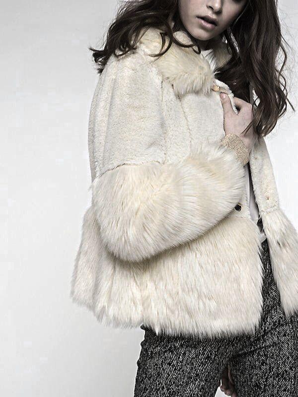 Idea by Suzi K on ~Her Furry Life~ | Faux fur jacket ...