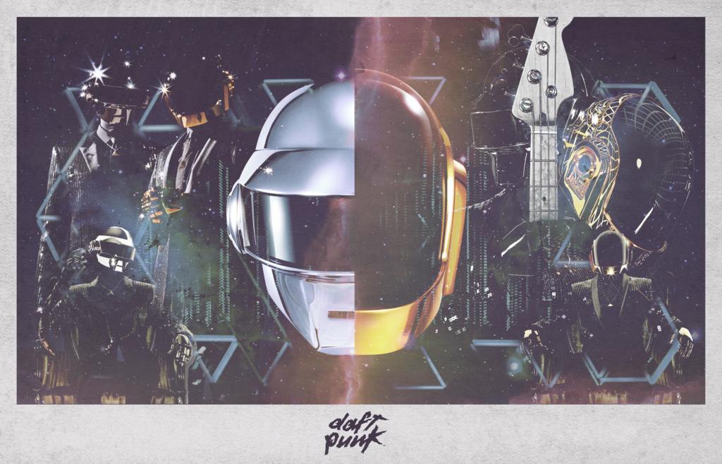 Daft Punk Poster 1   Daft punk poster, Daft punk ...