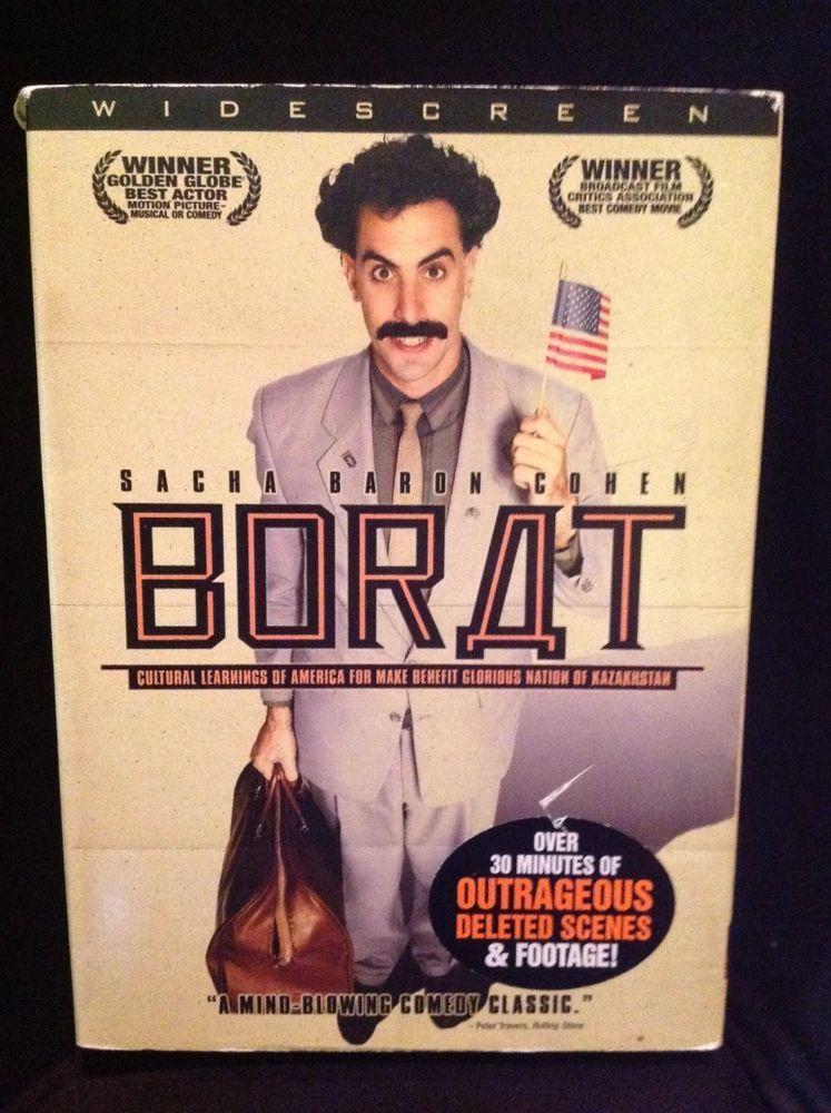 borat widescreen 2006 dvd