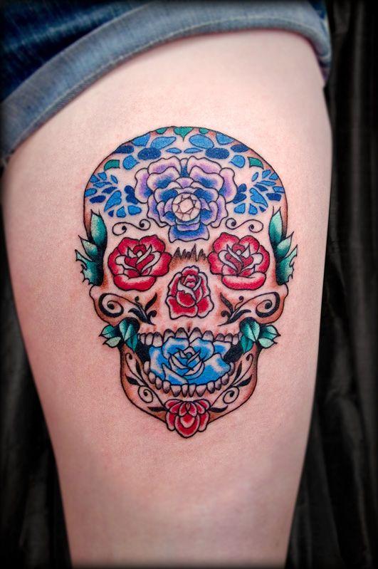 Pin By Gianessa Pirro On Sugar Skull Sugar Skull Tattoos Tattoos Trendy Tattoos