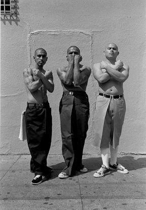 Joseph Rodriguez, 19th Street gang members. San Francisco, California (1999.)