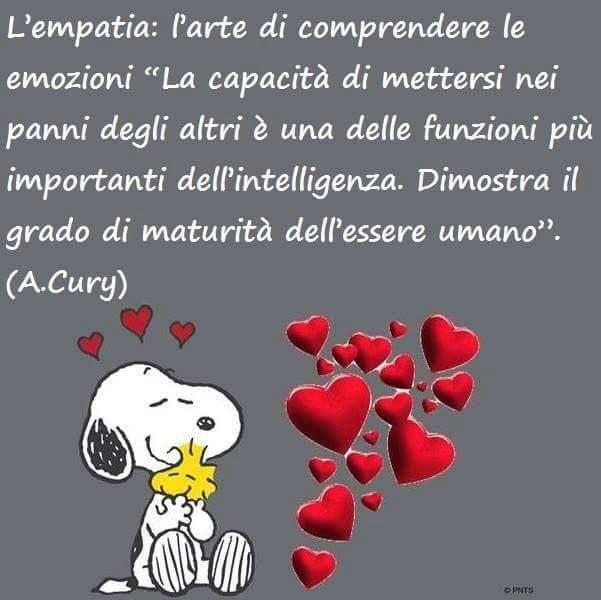 L Empatia E Importante Citazioni Snoopy Citazioni Citazioni
