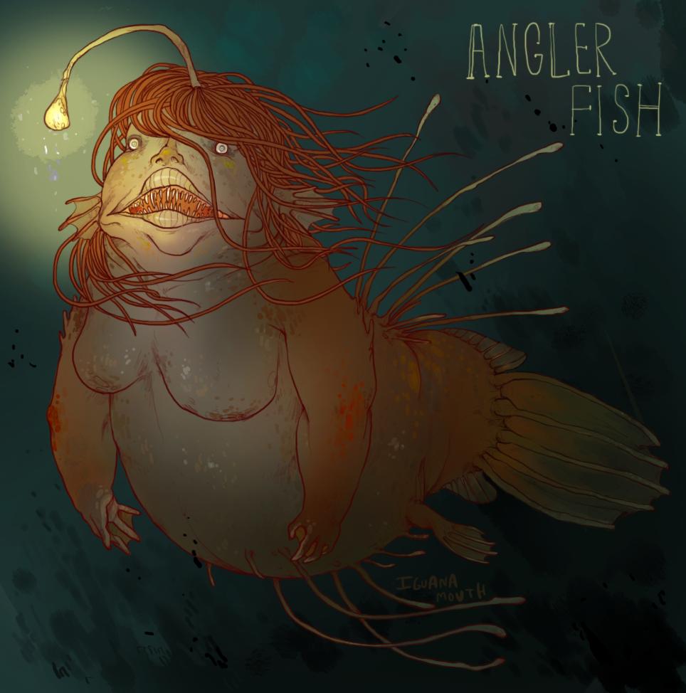 Hairy Angler