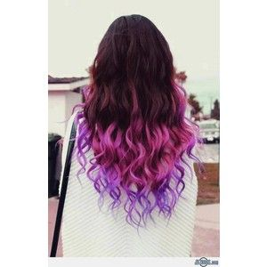 Black to pink to purple ombre hair polyvore hair pinterest black to pink to purple ombre hair polyvore pmusecretfo Image collections