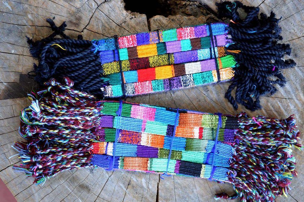 Wholesale 25 silk, linen, friendship bracelets, fair trade, hand made wristbands