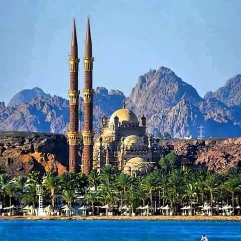مسجد الصحابة شرم الشيخ Sharm El Sheikh Beautiful Mosques Egypt Travel