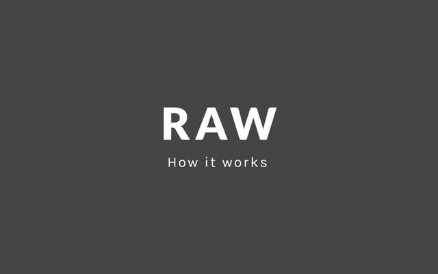 Basic tutorial on Raw, an online app for designers and vis geeks - spreadsheet apple