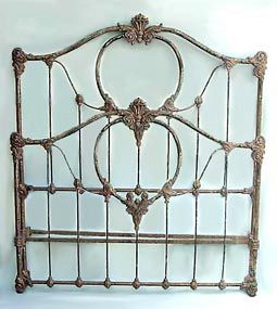 Original Antique Iron Bed Details Bedroom Pinterest Antique