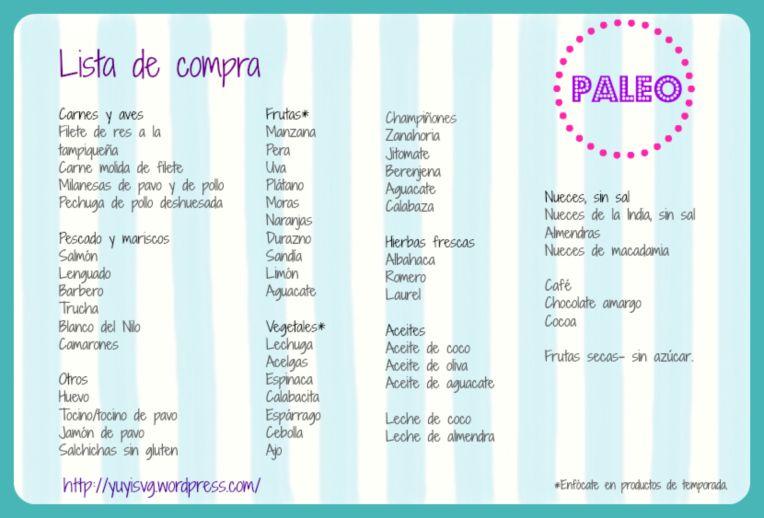 ListaDeComprasPaleoHigh