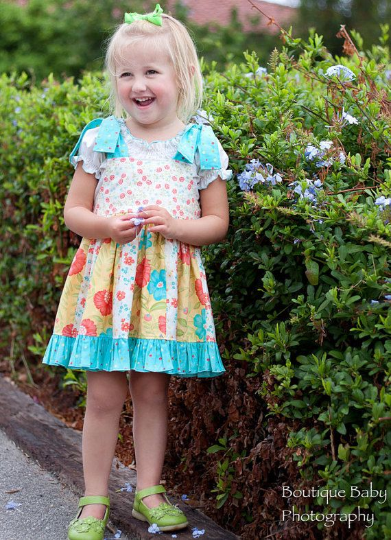 Renee  Jumper Ruffles Dress  Pattern  by  by spiceberrycottage, $14.00