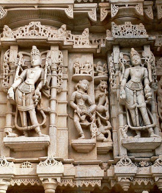 Jain Temple Ranakpur Rajasthan India Arte De La Antiguedad Arquitectura Renacentista Historia Antigua