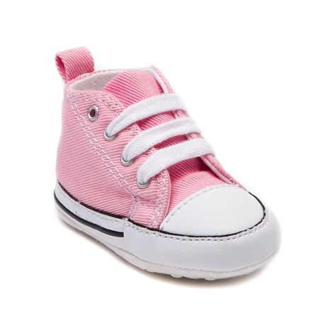 19589ce8f838 Shop for Crib Converse First Star Sneaker in Pink at Journeys Kidz. Shop  today for the hottest brands in mens shoes and womens shoes at  JourneysKidz.com.