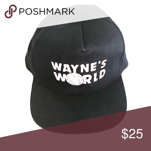 0615819809917 Vintage Waynes World snapback hat osfm Vintage Waynes World snapback hat  osfm KC Accessories Hats