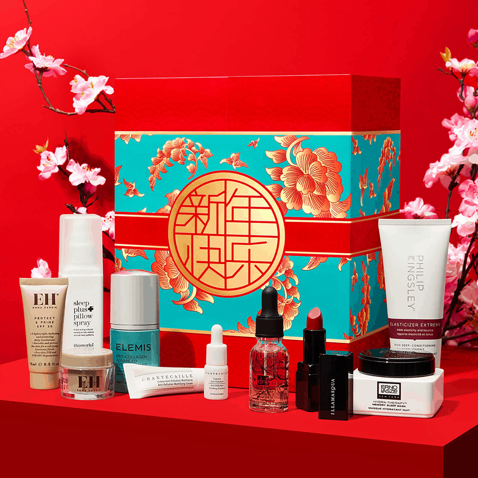 Look Fantastic Chinese New Year Limited Edition Beauty Box Available Now + Full Spoilers! - hello subscription -   beauty Box new year