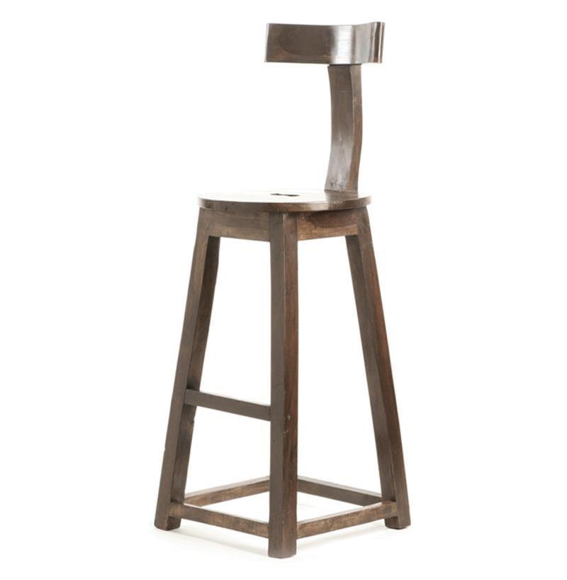 Amisco S Lauren Swivel Counter Stool W Distressed Wood Seat