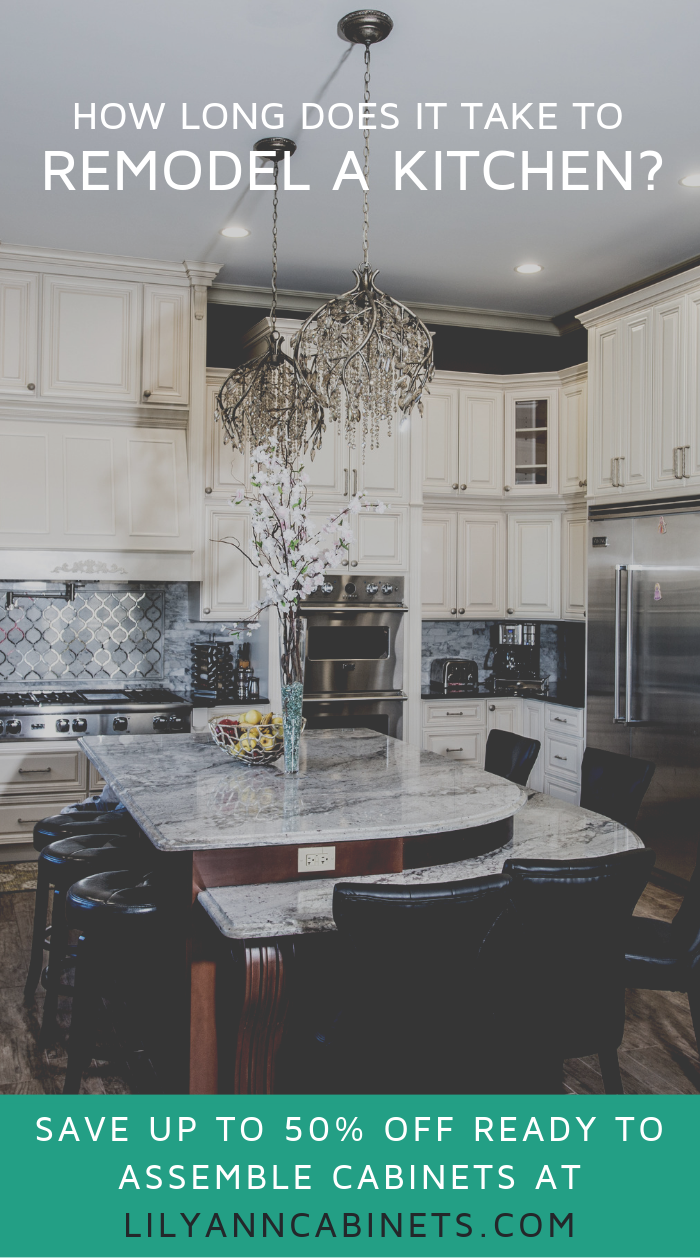 How Long Does It Take To Remodel A Kitchen Full Kitchen Remodel Kitchen Diy Makeover Diy Kitchen Cabinets Makeover