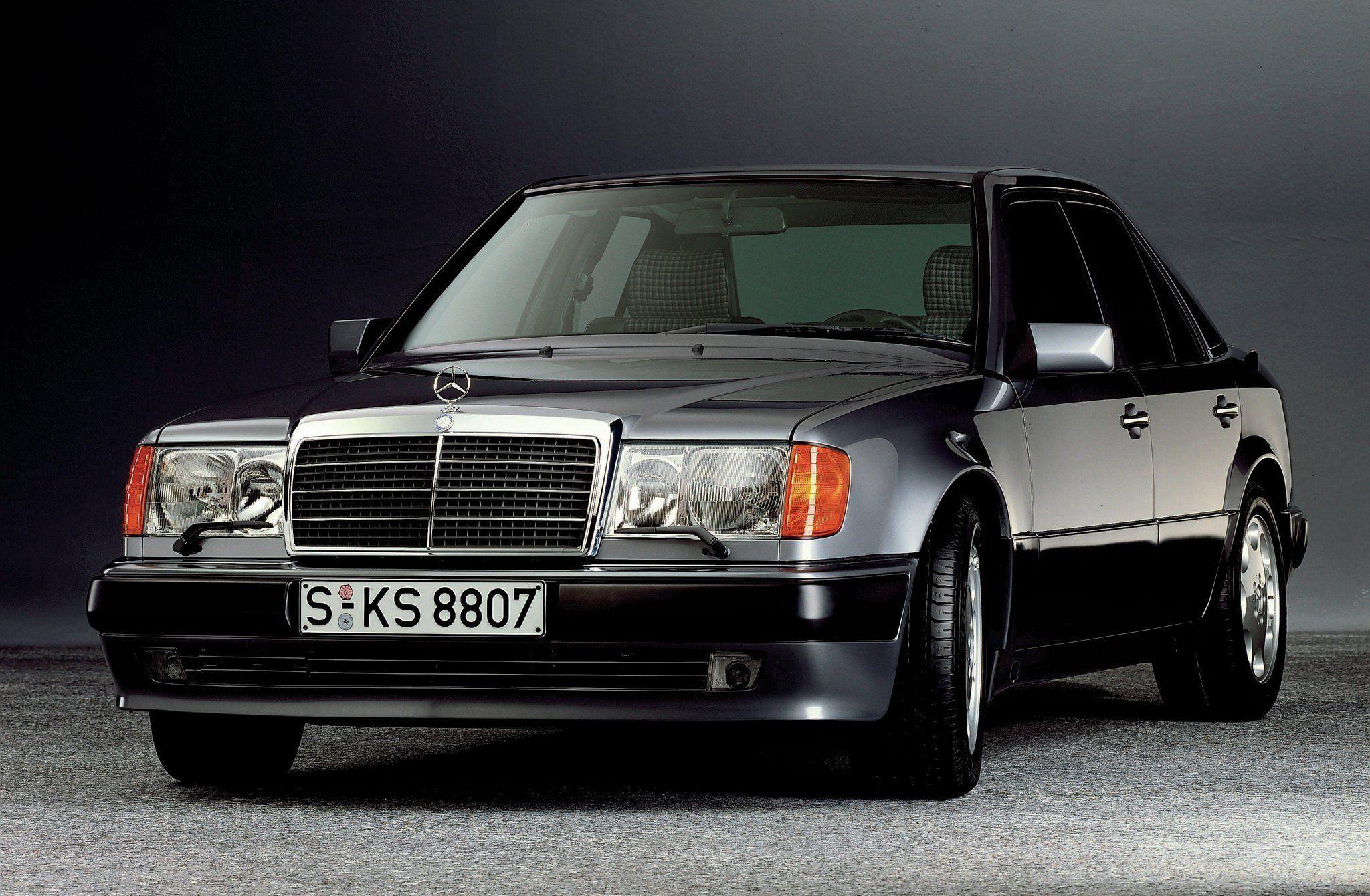 1991 1994 Mercedes Benz 500e E500 W124 Driver Side Front View 01